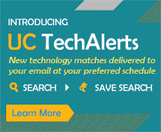 Learn About UC TechAlerts - Save Searches and receive new technology matches